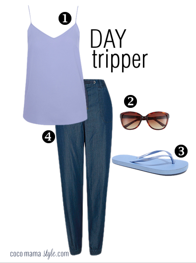 holiday style | capsule wardrobe |George ss15 day tripper look