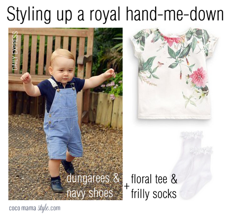 prince george style | royal hand me downs cocomamastyle