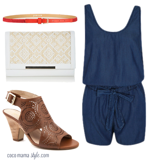 Jones sandals - outfit - playsuit - cocomamastyle