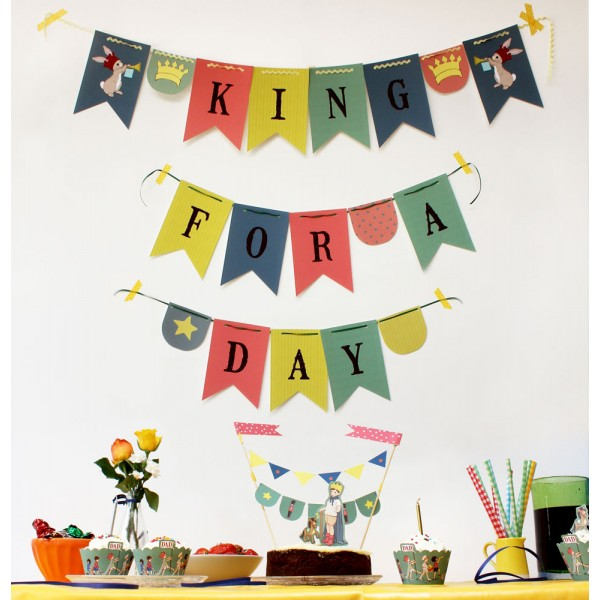 King for a day party pack | belleandboo | fathers day gift | cocomamastyle