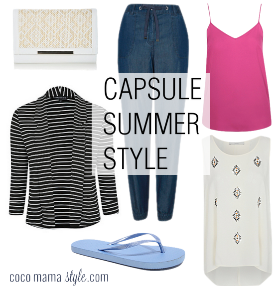 Capsule summer style with George