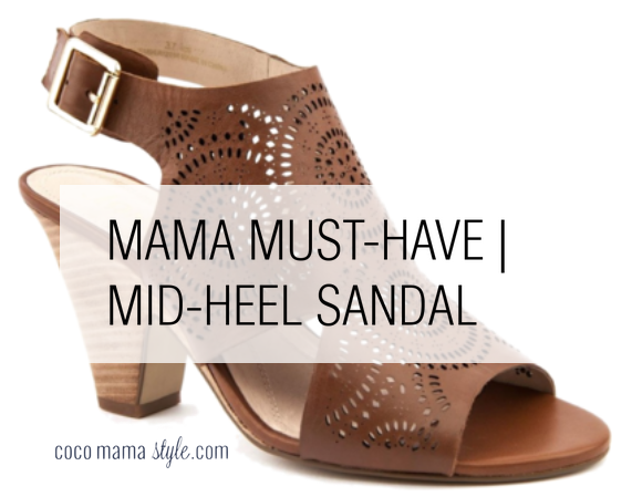 Mama must-have | mid-heel sandals