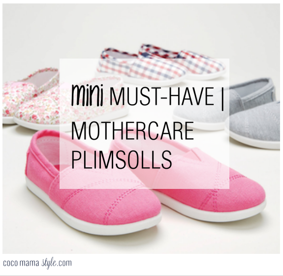 mini must have mothercare canvas plimsolls baby child mimi