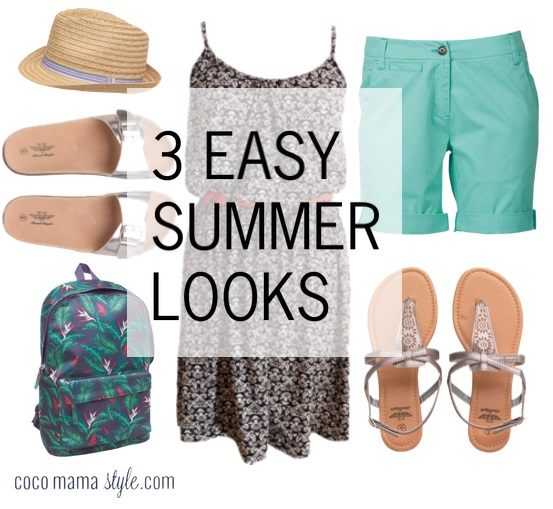 3 easy summer looks | mandmdirect | cocomamastyle