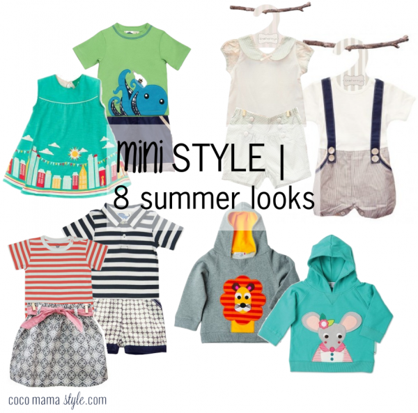 mini style | 8 summer sale outfits | Little Chickie | cocomamastyle