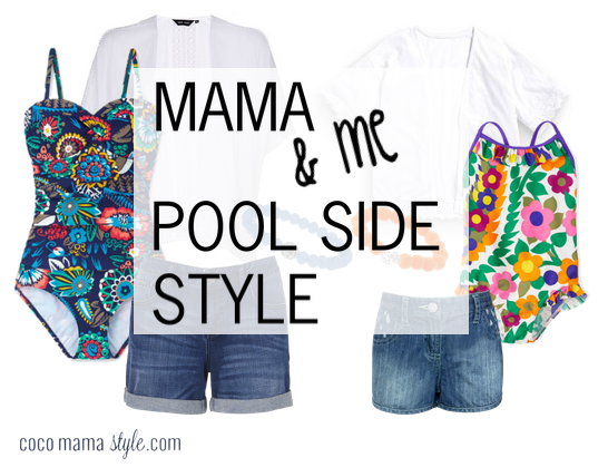 Mama & Me | pool side style