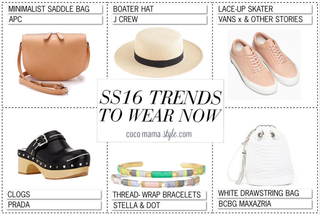 cocomamastyle - SS16 trends to wear now | accessories