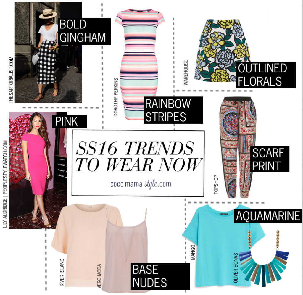Fast forward to SS16 |trends to wear now