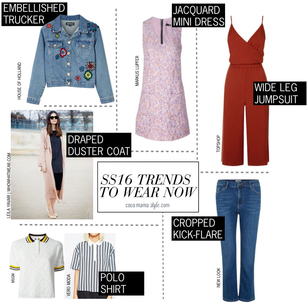cocomamastyle |SS16 trends to wear now | key pieces