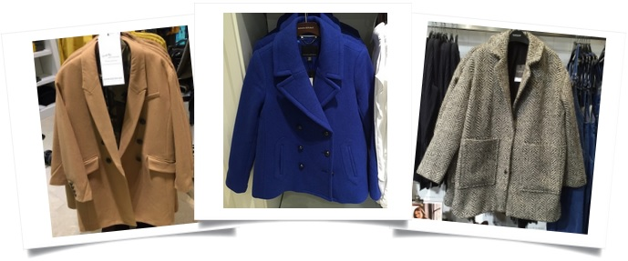Finding the right coat with a personal stylist
