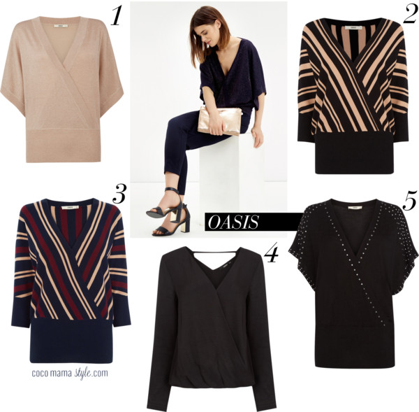 Mama must-have | Oasis wrap tops