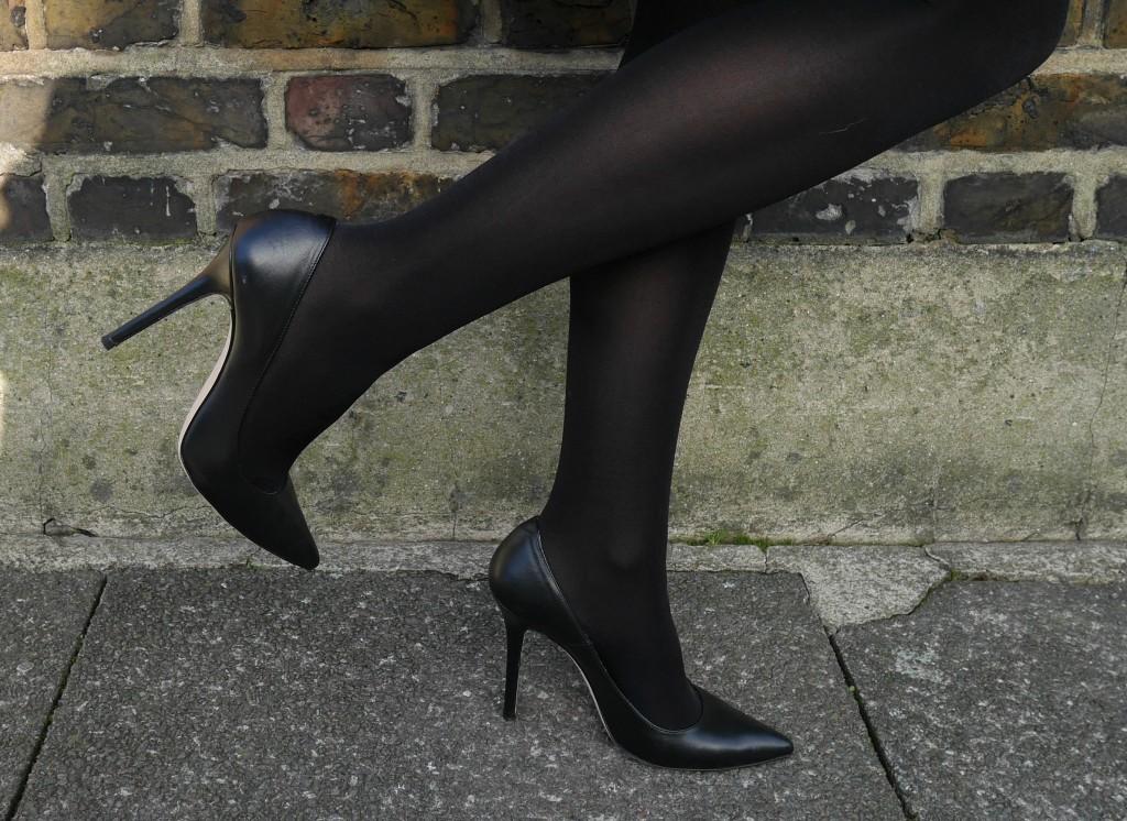 classic black court | daniel footwear | cocomamastyle