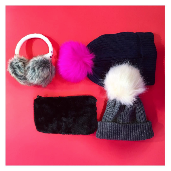 George at asda | faux fur ear muffs | clutch bag | fur pom pom beanie bobble hat | cocomamastyle