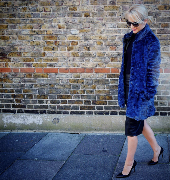 cocomamastyle | street style | outfit of the day | faux fur coat | mama style