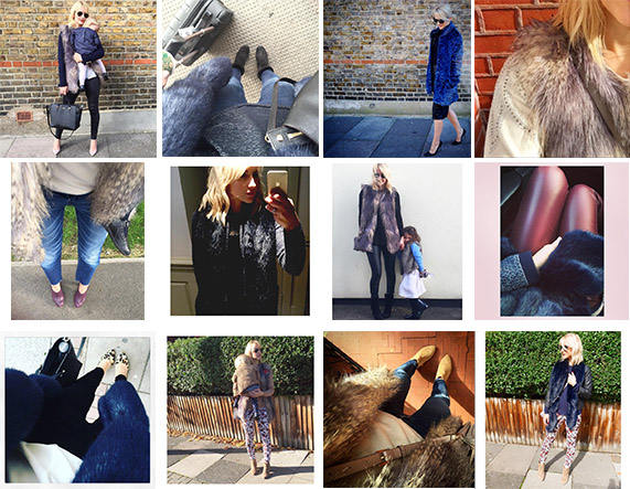 cocomamastyle instagram faux fur outfits