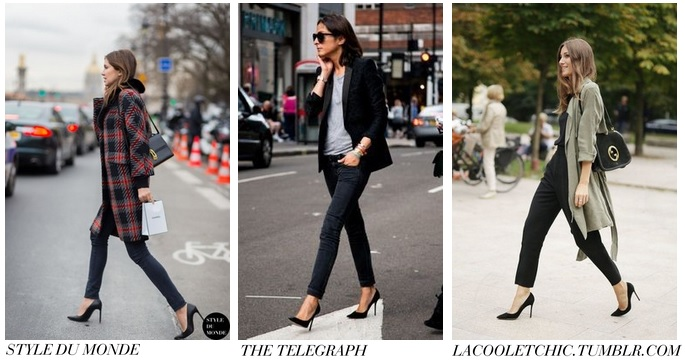 Classic black courts | style inspiration