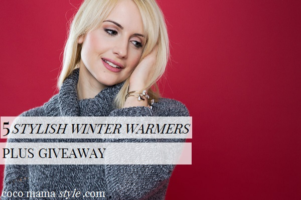 5 stylish winter warmers | plus bobble hat giveaway