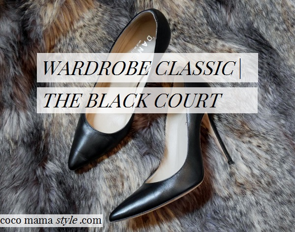 Wardrobe classic: The black court shoe