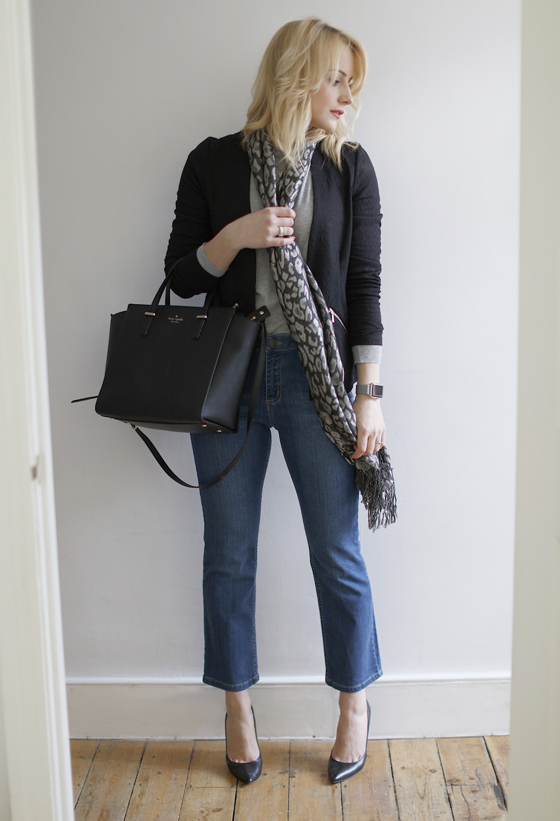 cocomamastyle | New Look| outfit of the day | crop flare jeans