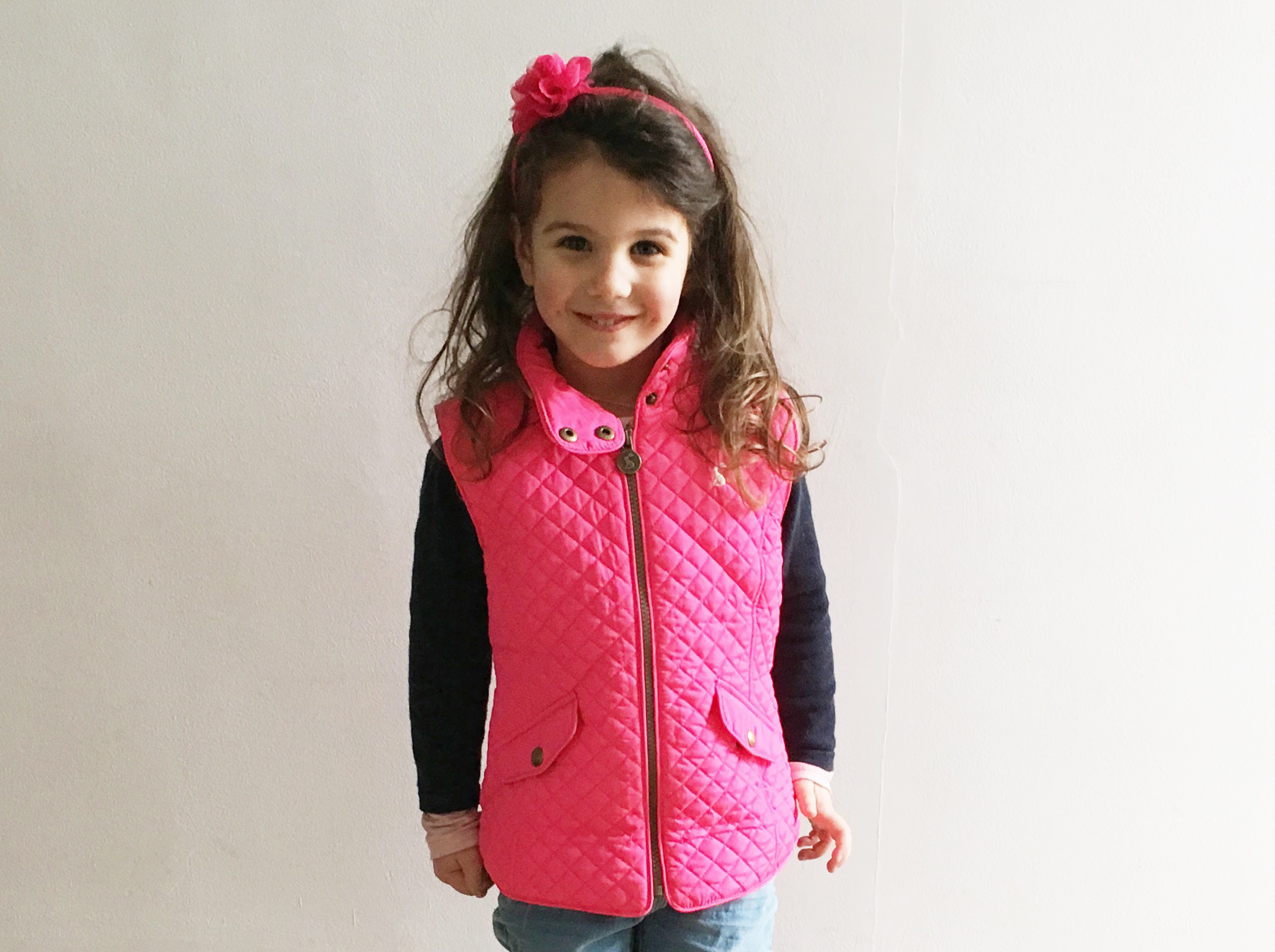 Mini outfit of the day   Quilted gilet and chelsea boots