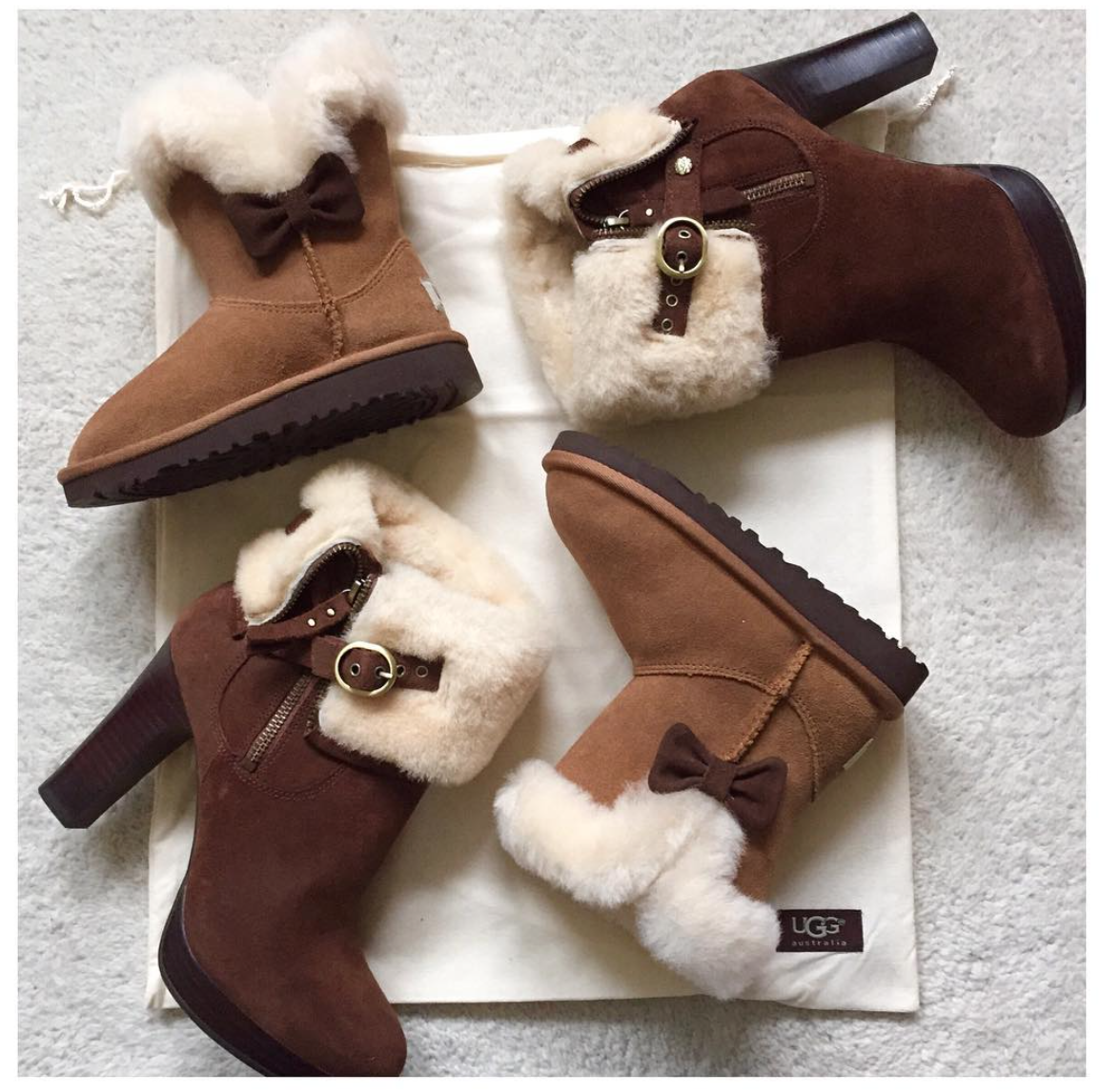 coco mama style | mama and me | sheepskin boots | UGG | jake shoes