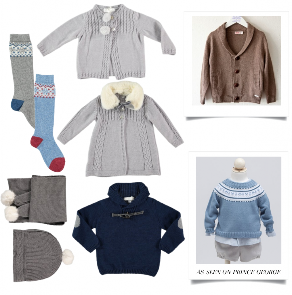 Stylish knitwear for little ones