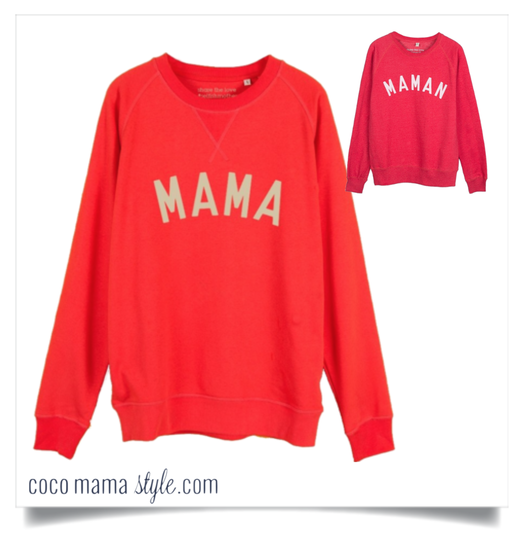 Quick fashion fix under £50| MAMA maman mother  sweatshirt | selfish mother brand | john lewis | coco mama style
