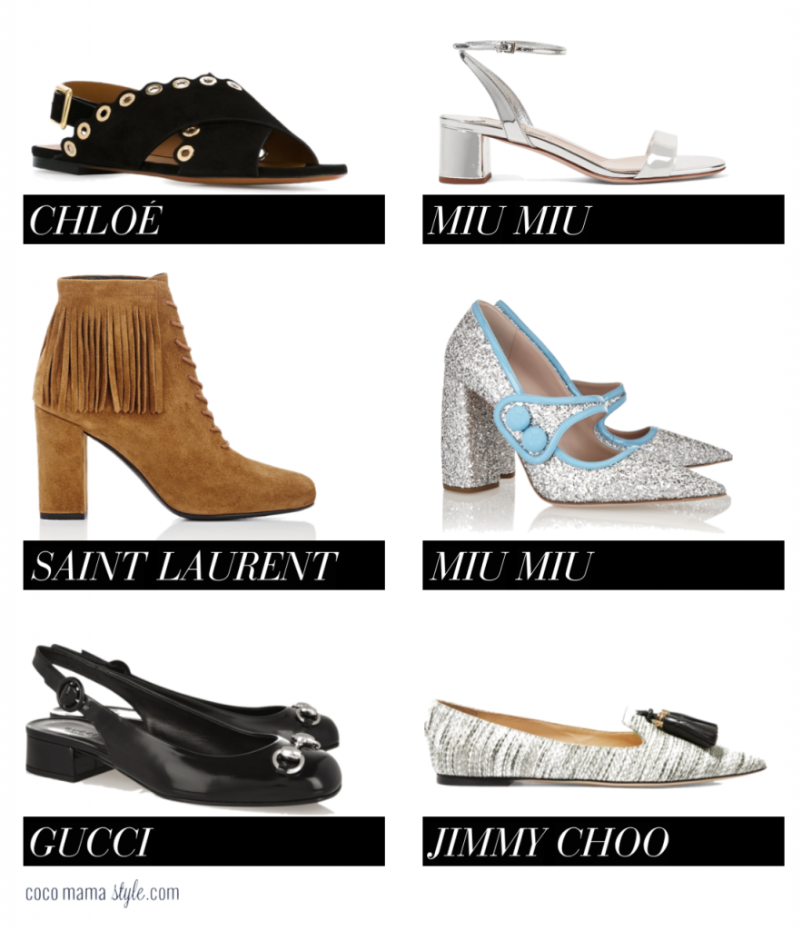 Designer inspired High Street shoes on a budget