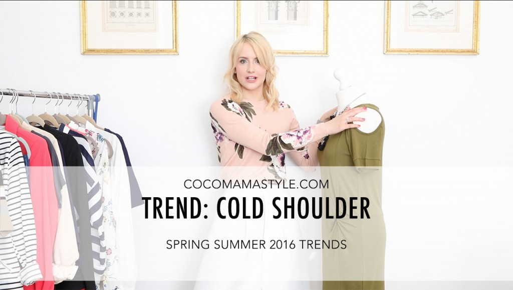 VIDEO | Spring Summer Trends: Cold Shoulder