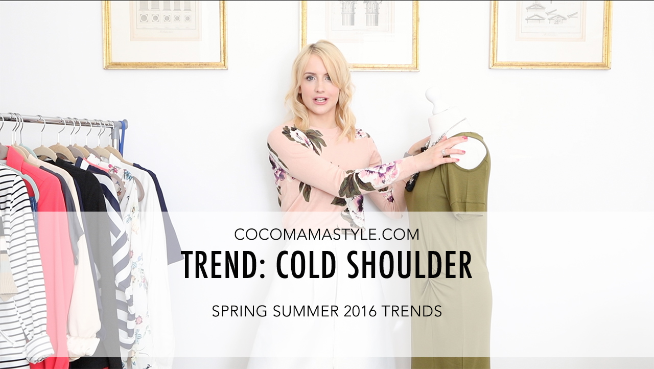 cocomamastyle | trend video | cold shoulder