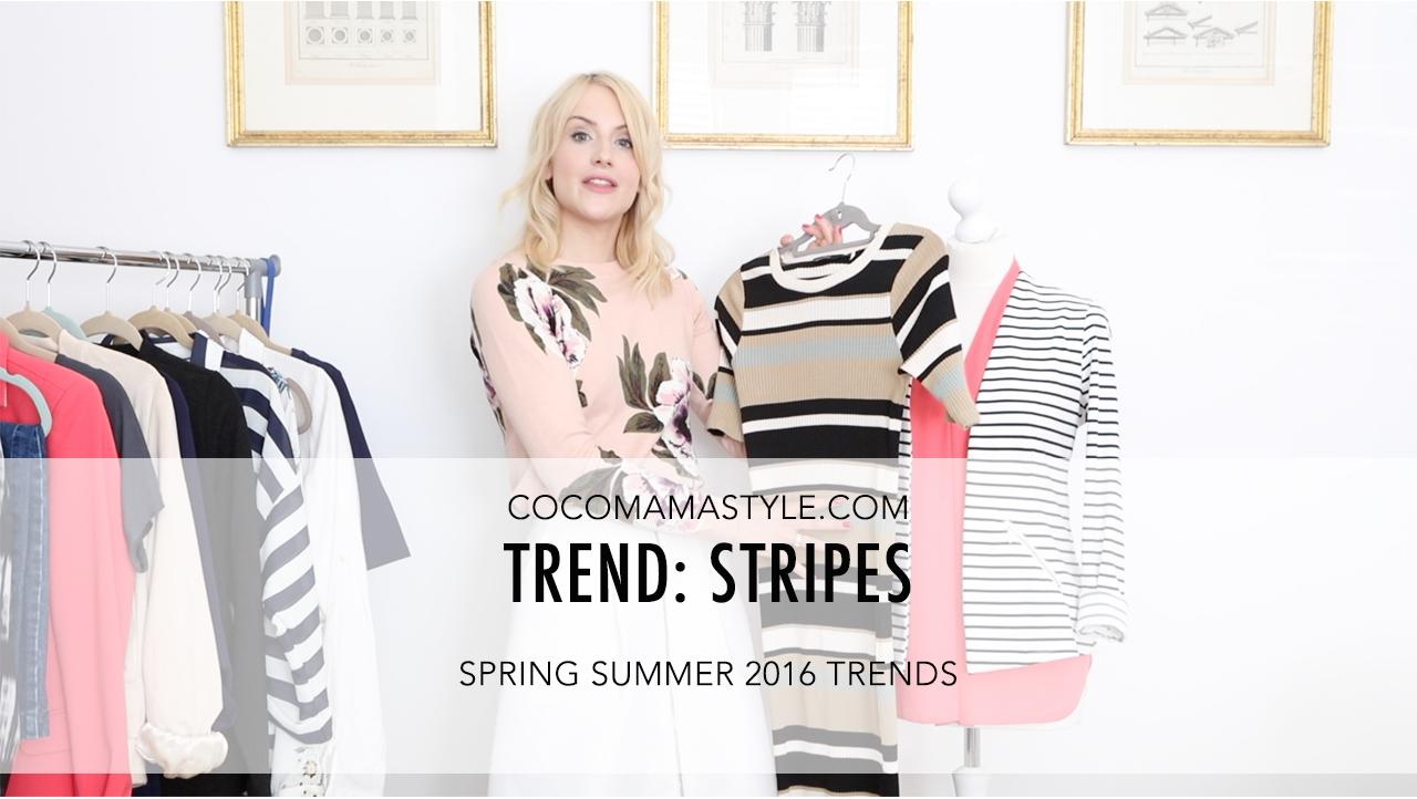 cocomamastyle | trend video | stripes