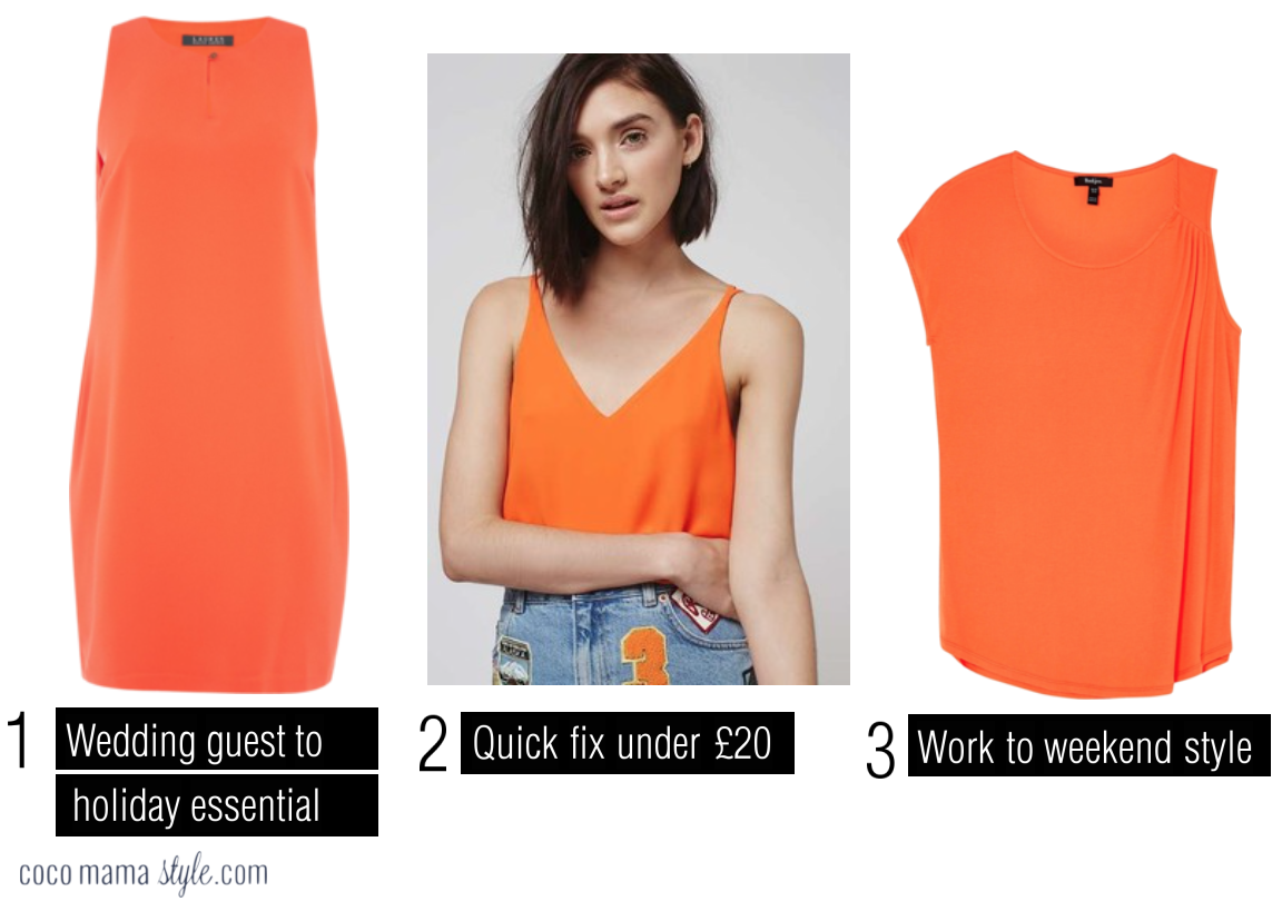 cocomamastyle | trend video | orange | topshop vest  | lauren ralph lauren dress | baukjen draped top