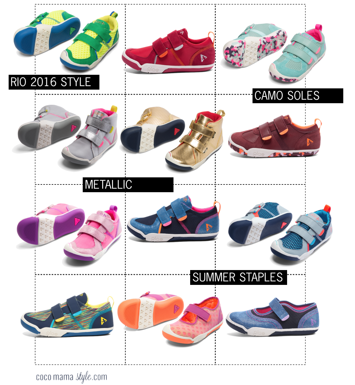 coco mama style | mini style | kids shoes | childrens | PLAE UK shoes