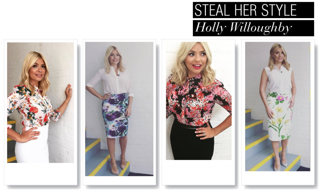 celebrity mum style | holly willoughby