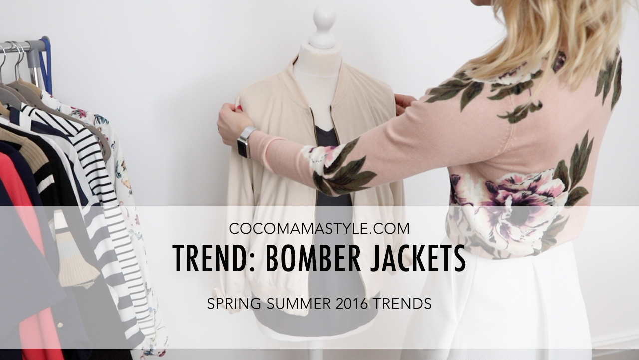 cocomamastyle | trend video | bomber jacket