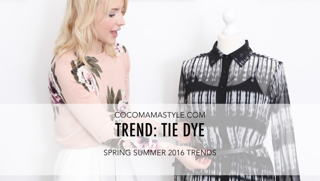 VIDEO | Spring summer trends: Tie dye