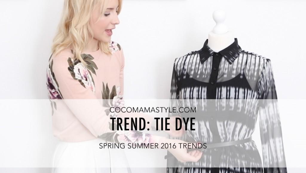 VIDEO | Spring summer trends: Tie dye