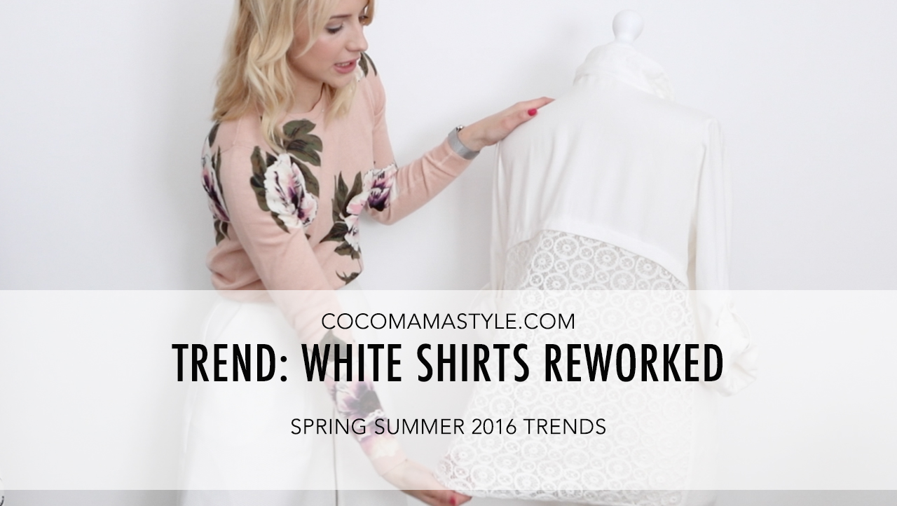 cocomamastyle | trend video | white shirt
