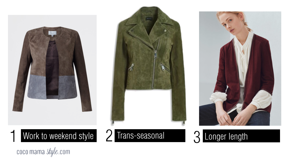 cocomamastyle | style update | coloured suede jacket