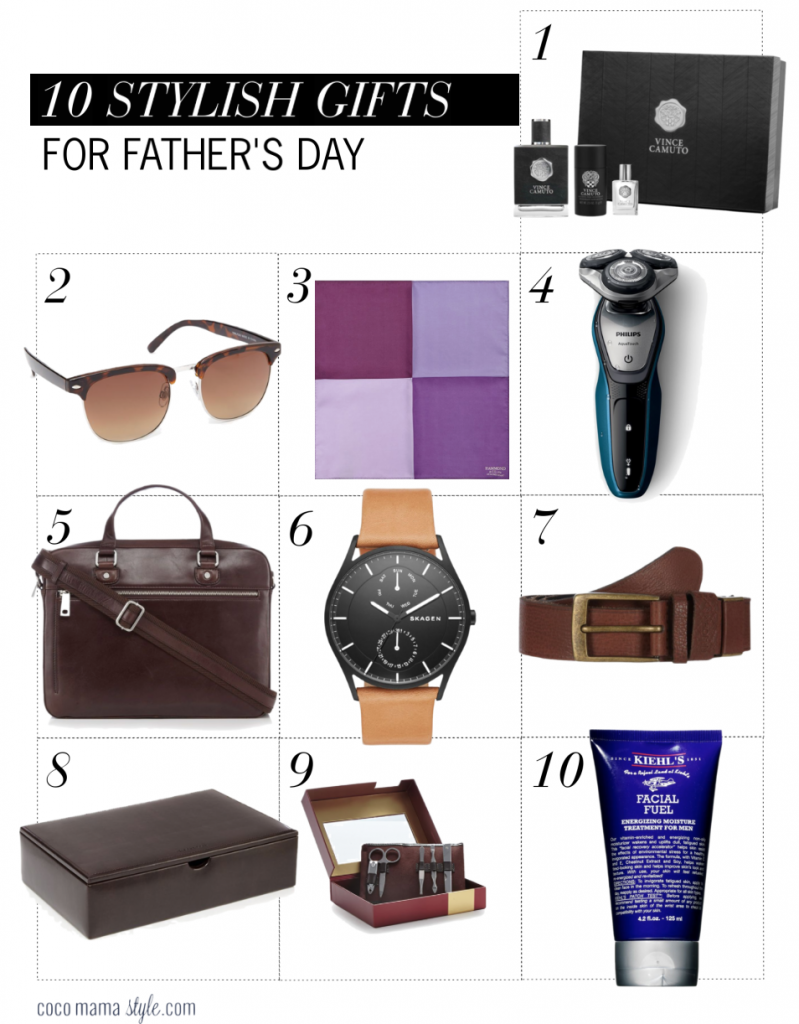 10 stylish gift ideas for Father's Day