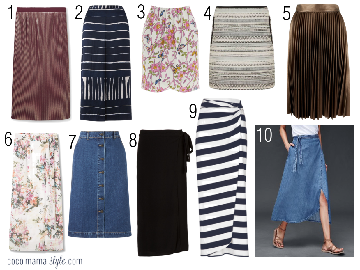 cocomamastyle | style update | video | skirts