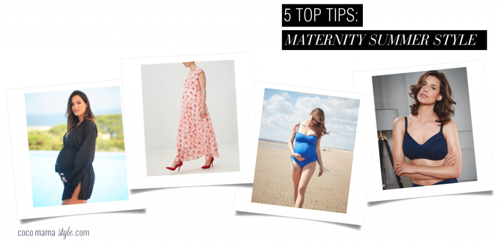 5 top tips for cool and chic maternity summer style