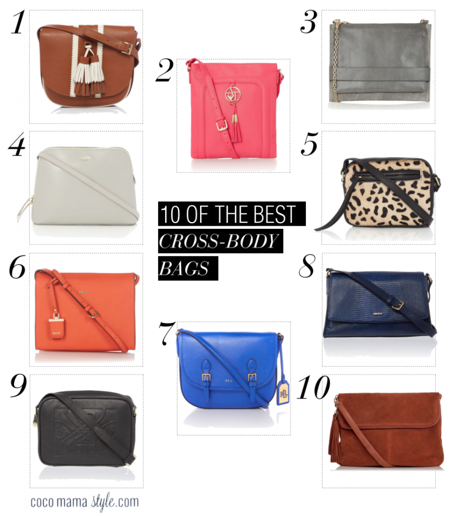 10 of the best | Cross body bags