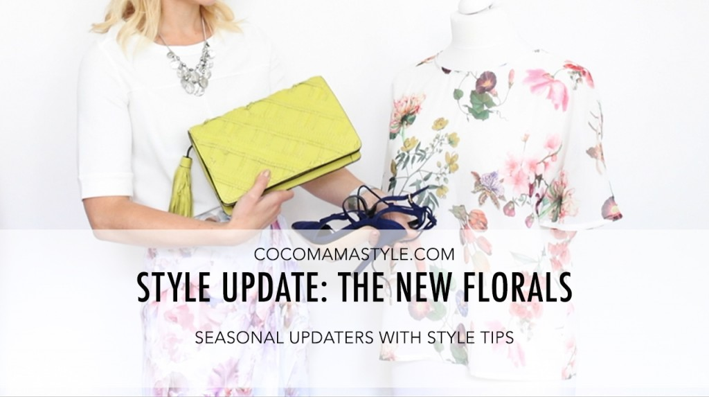 video | style update | new florals