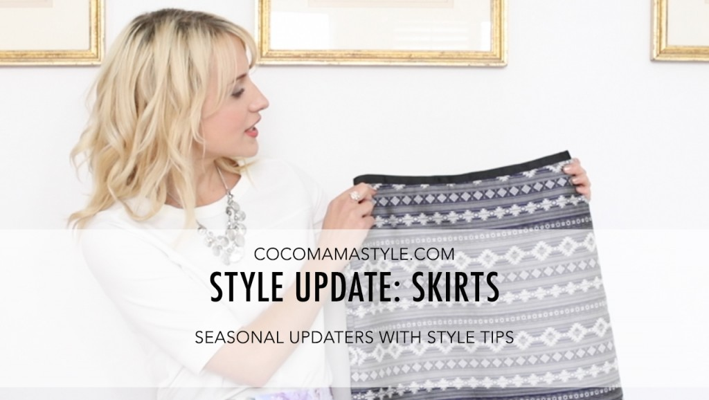 VIDEO | Style Update: 5 skirts to wear now