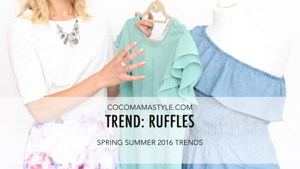 VIDEO | spring summer trends: Ruffles