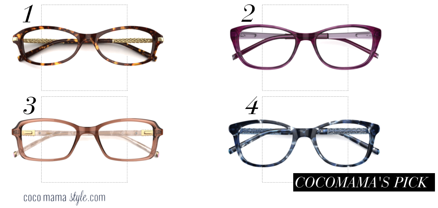 Specsavers Aurora by twiggy glasses collection | cocomamastyle
