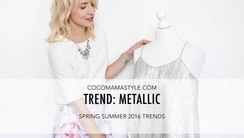 VIDEO | Trends: How to wear metallics
