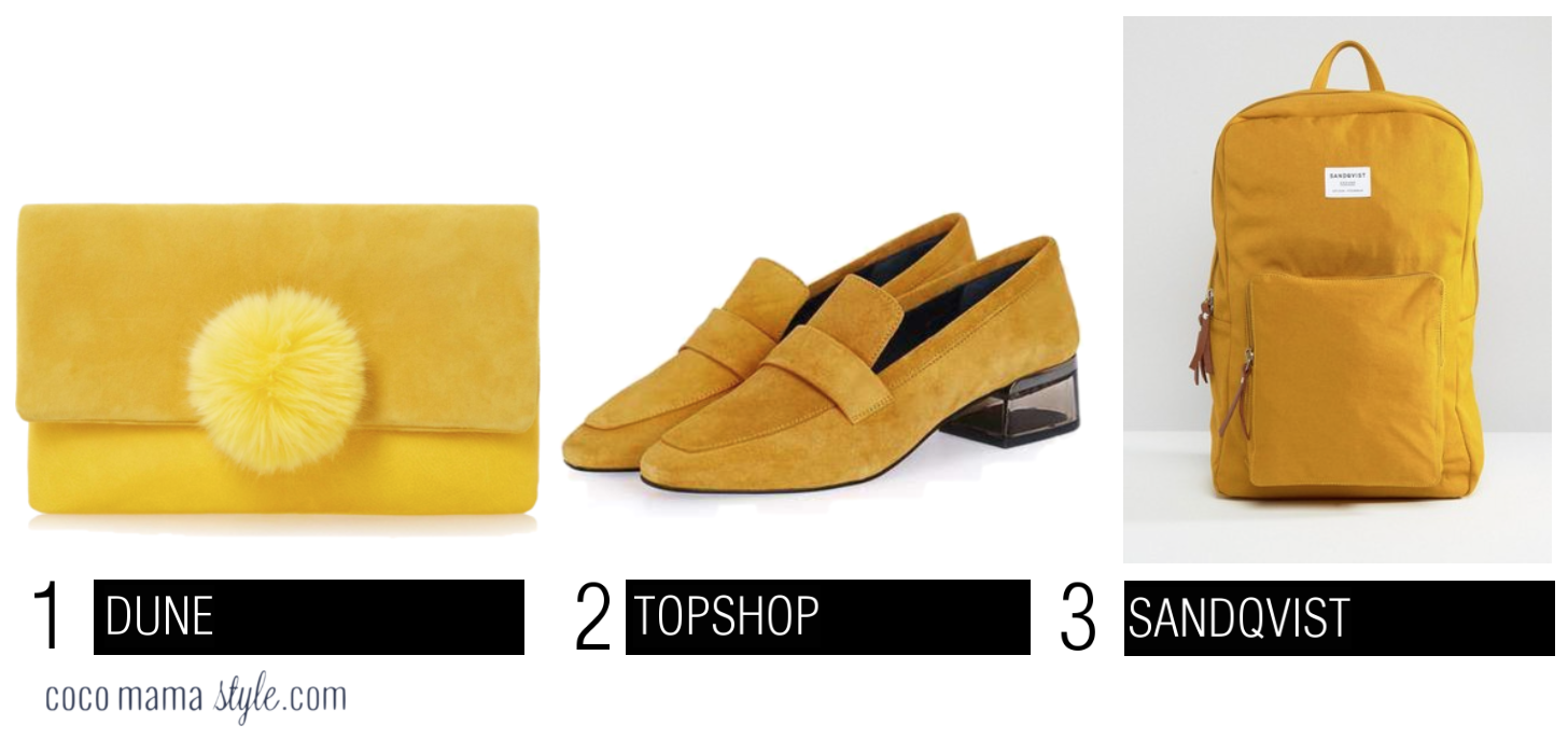 cocomamastyle | video | trend | yellow | accessories