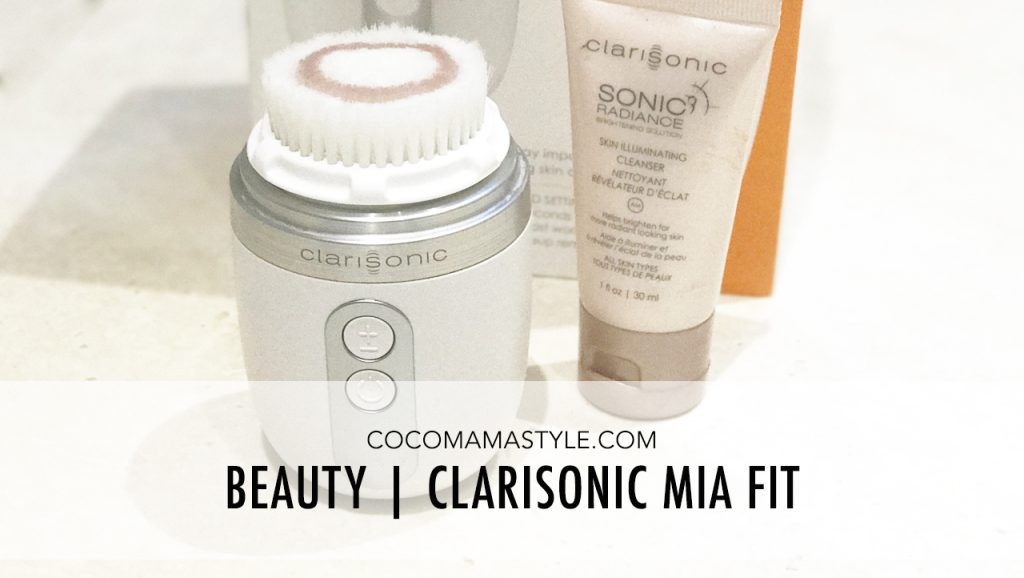 Clarisonic Mia Fit | currentbody | beauty review | cocomamastyle